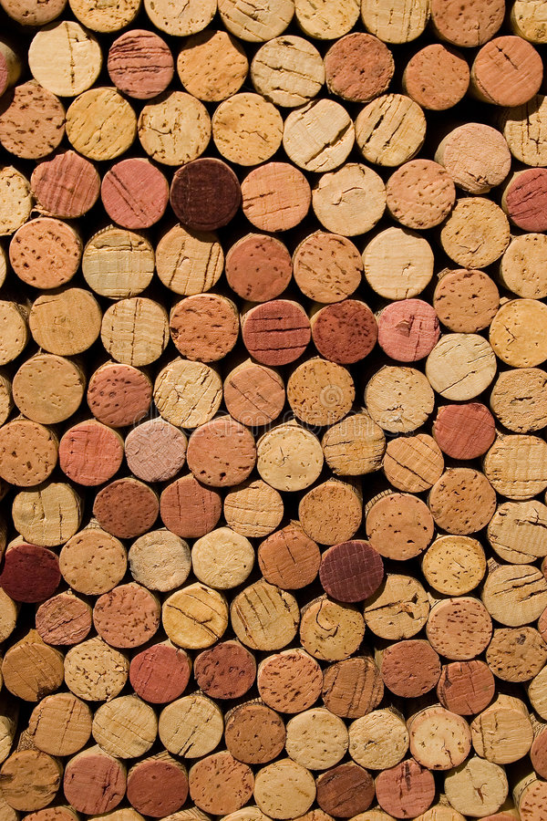 Free Wine Corks Stacked Royalty Free Stock Photo - 873835