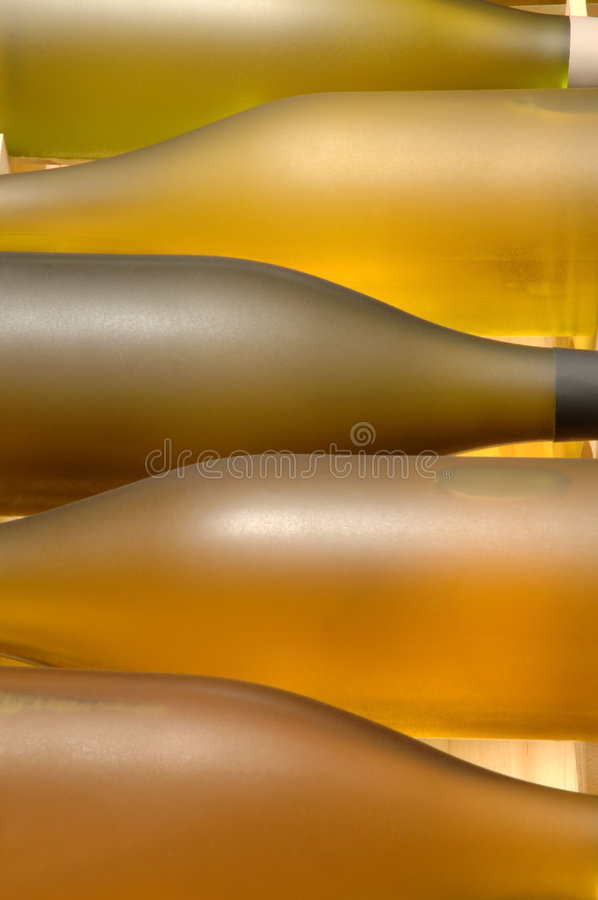 Wine Crate royalty free stock photo