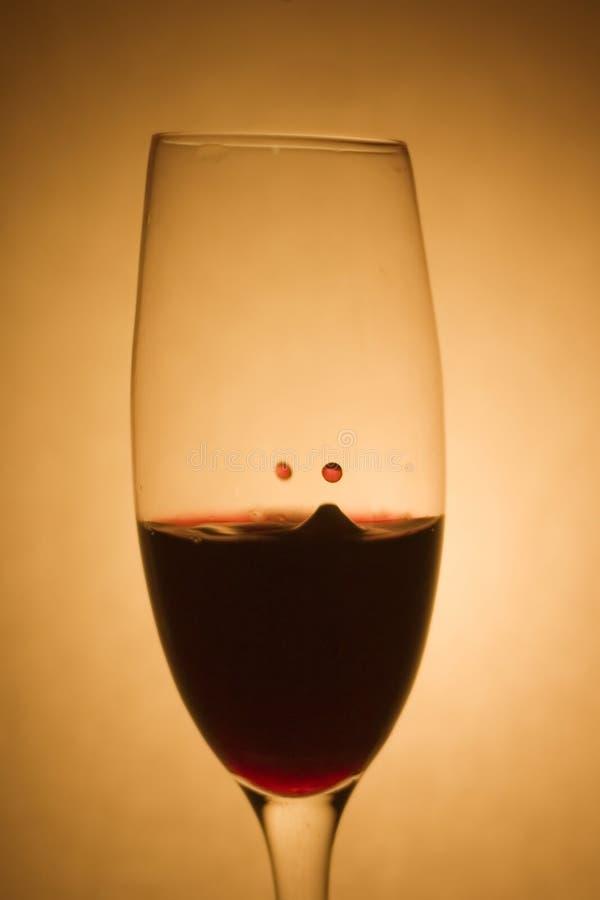 Wine Drop. Shot with 300D stock photos