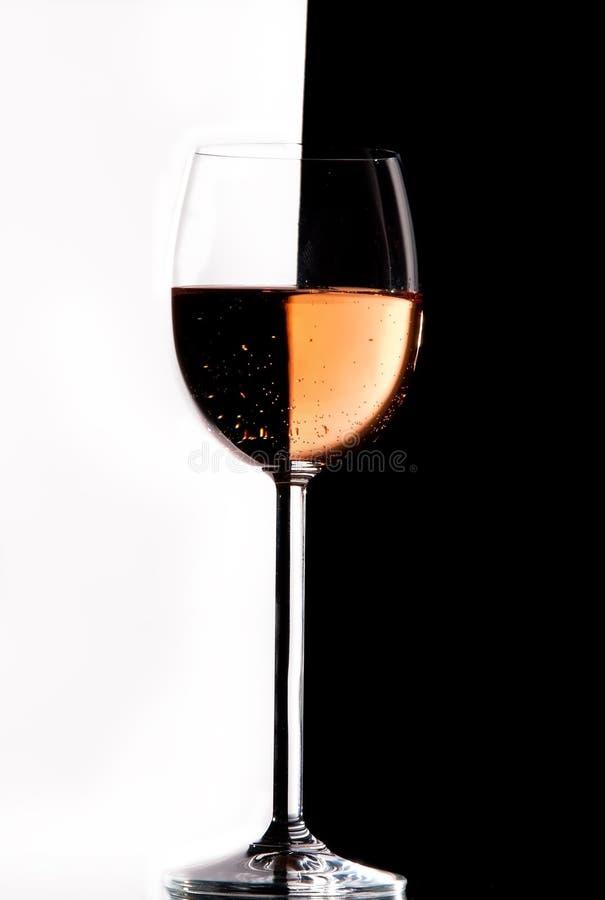 wine för crystal exponeringsglas royaltyfri bild