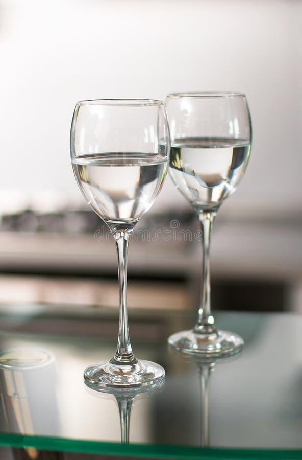 wine för koppar två fotografering för bildbyråer