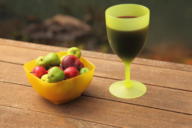 Download Wine and fruit stock photo. Image of food, leisure, outdoors - 8843692