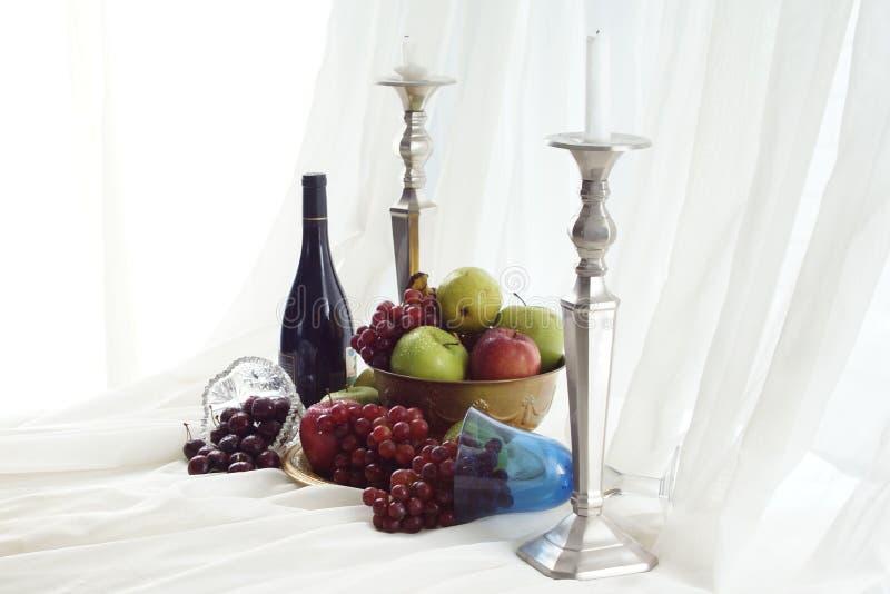 Wine & Fruit Feast royalty free stock photos