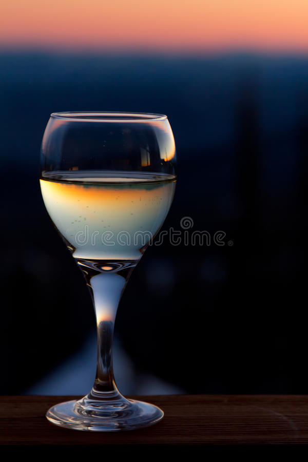 Download Wine glass stock image. Image of color, orange, colors - 18129087