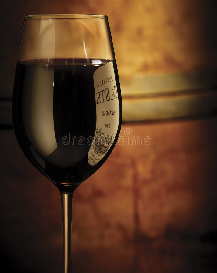 Wine glass royalty free stock photos