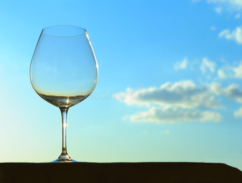 Download Wine glass stock photo. Image of blue, clouds, glass - 22503388