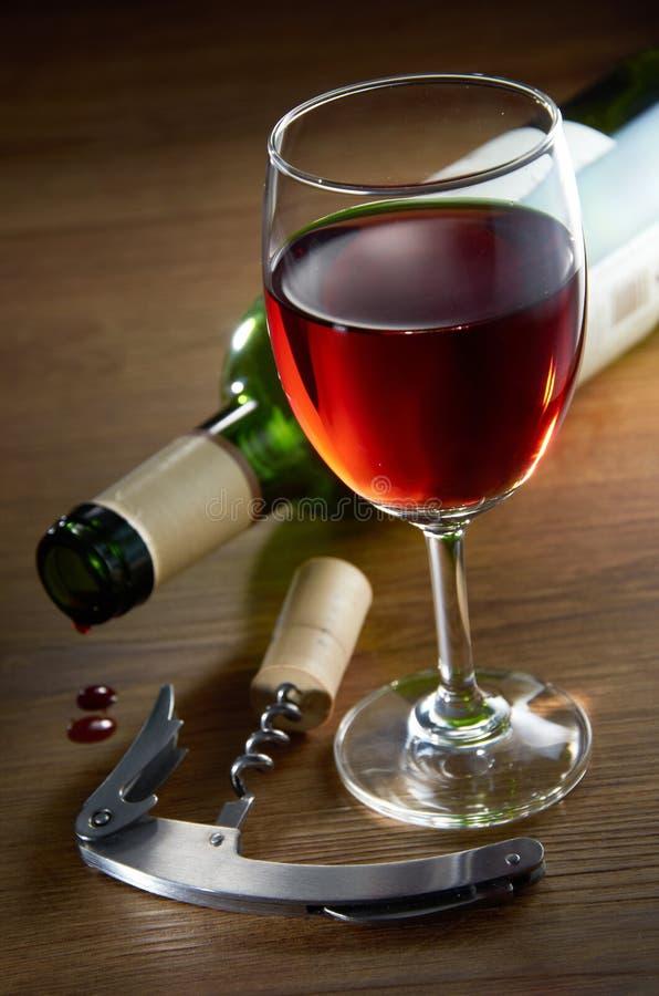Download Wine Glass stock photo. Image of dark, still, bottle - 22519530