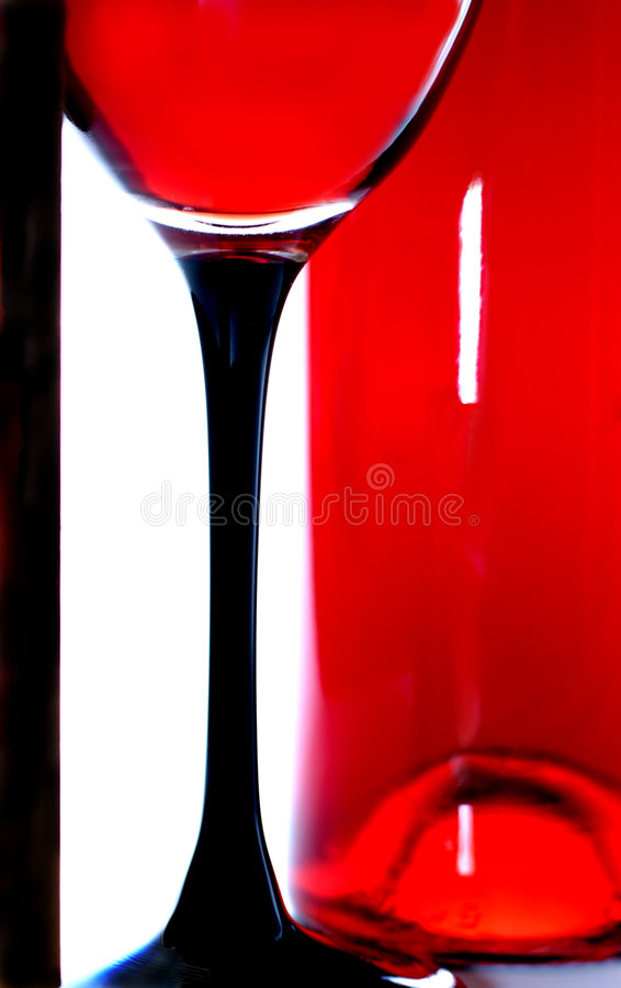 Free Wine Glass And Bottle Stock Images - 237894