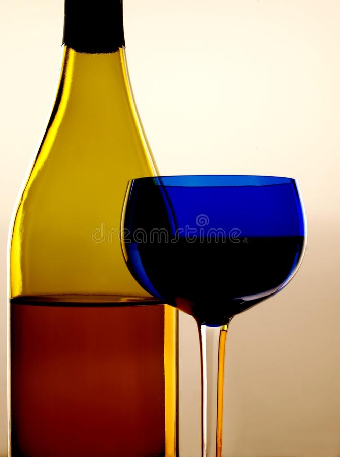 Download Wine Glass and Bottle stock image. Image of liquor, bottle - 10864929