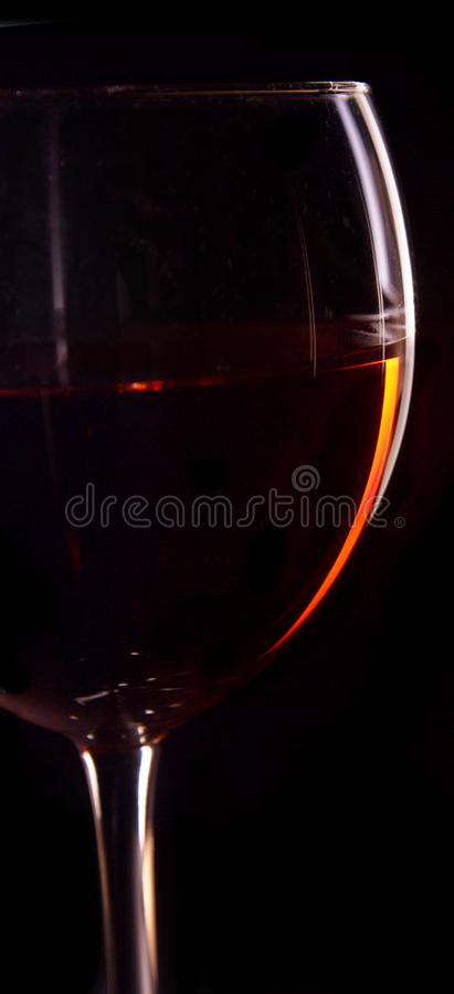 Wine Glass Silhouette royalty free stock images