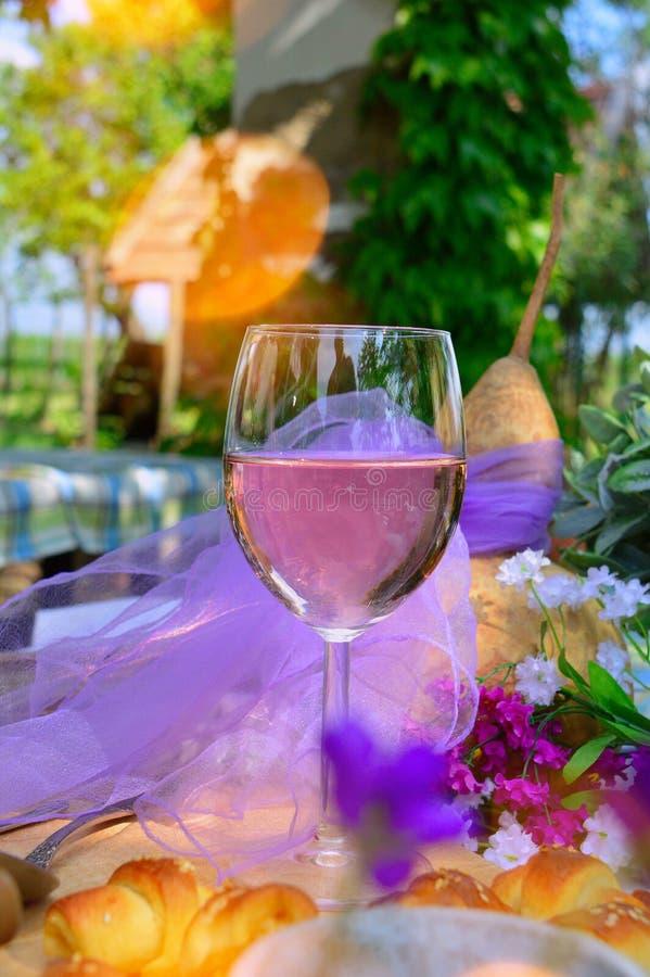 Wine Glass, Stemware, Yellow, Glass stock photos