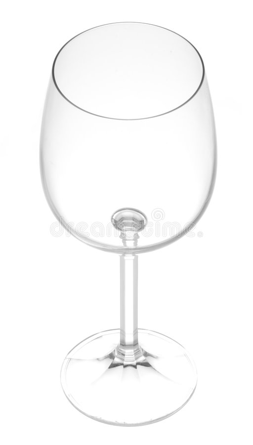Wine Glass on White royalty free stock images