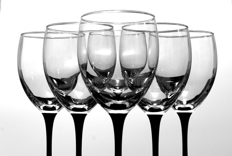 Download Wine Glasses Royalty Free Stock Photos - Image: 1419178