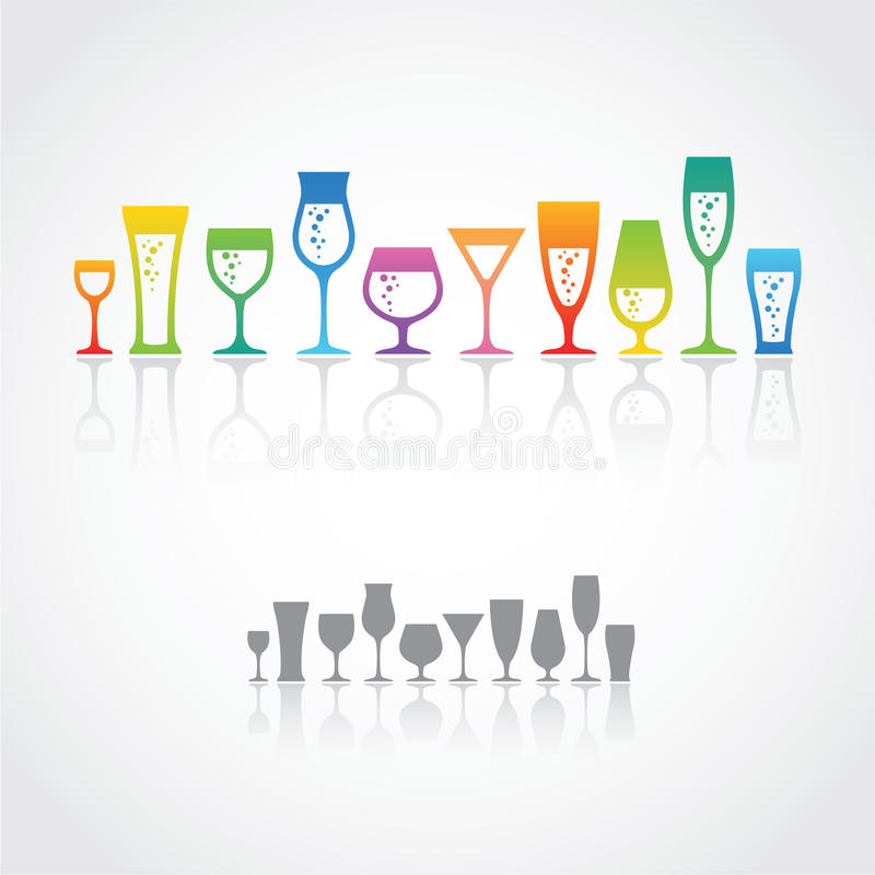 Free Wine Glasses Royalty Free Stock Images - 30956819