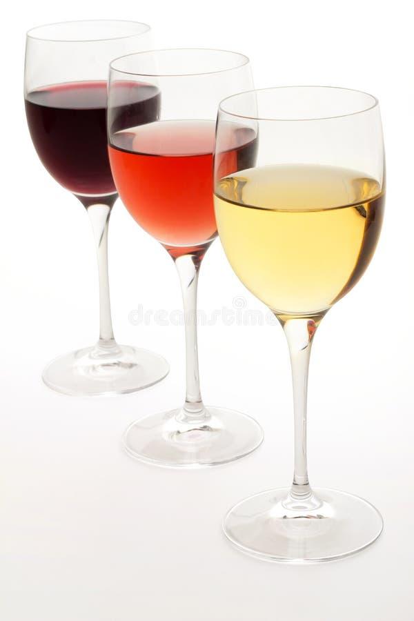Free Wine Glasses Royalty Free Stock Photos - 44284638