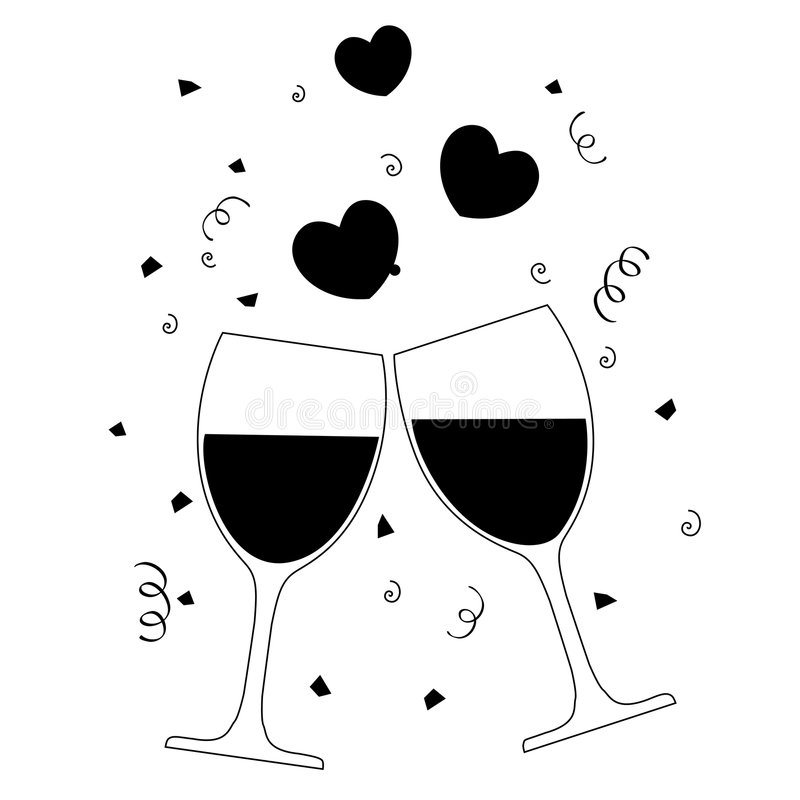 Free Wine Glasses Stock Images - 7367864