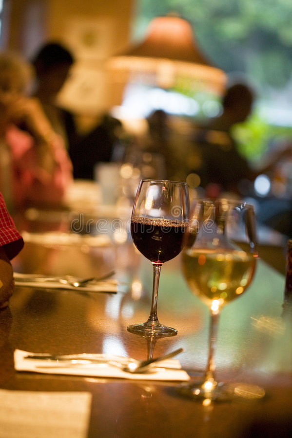 Free Wine Glasses Stock Images - 9331424