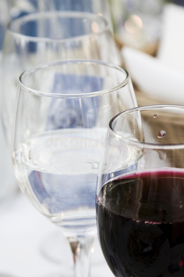 Download Wine glasses on the table stock photo. Image of enjoy - 19490500