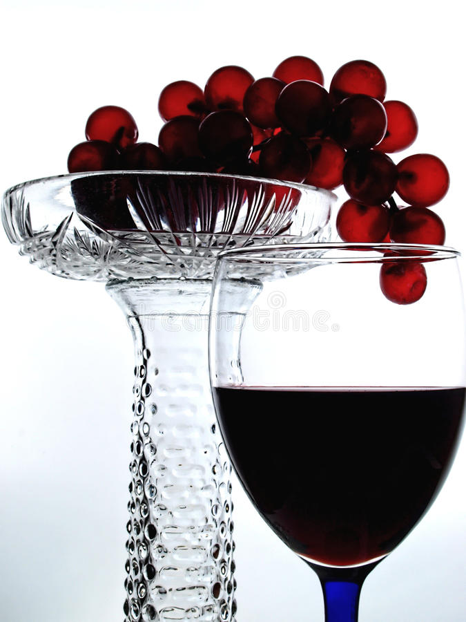Wine Glassware Abstract Design royalty free stock photos