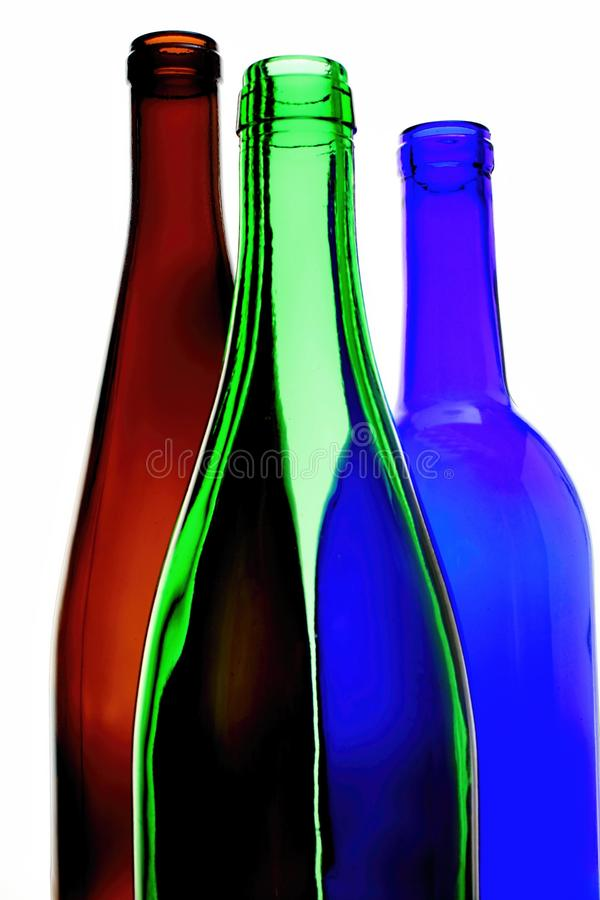 Wine Glassware Abstract Design royalty free stock image