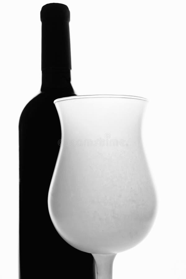 Wine Glassware Background Design royalty free stock photos