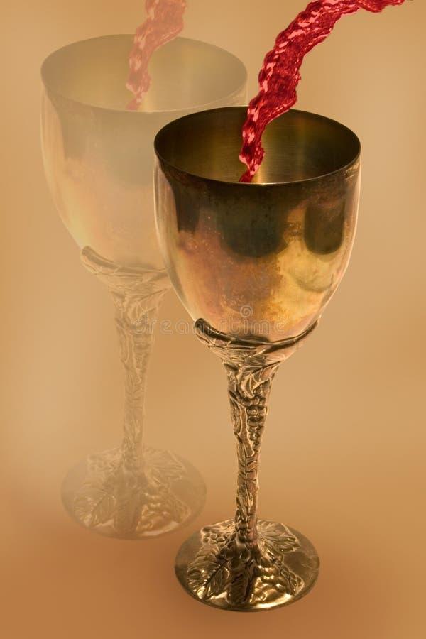 Download Wine Goblet stock image. Image of reflection, tarnished - 1670153