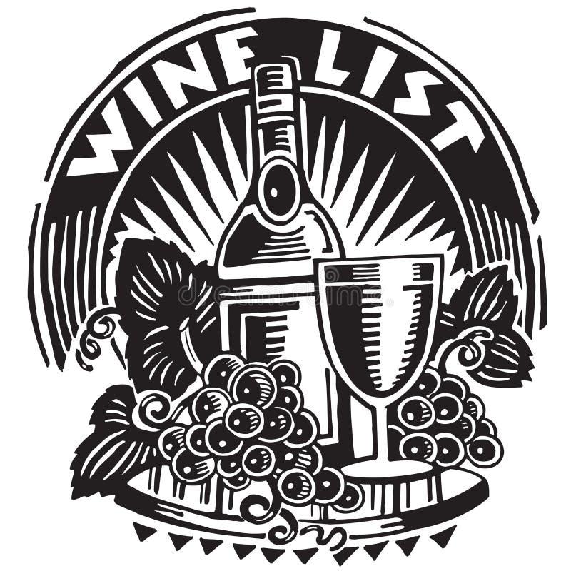 Wine and Grape Graphic