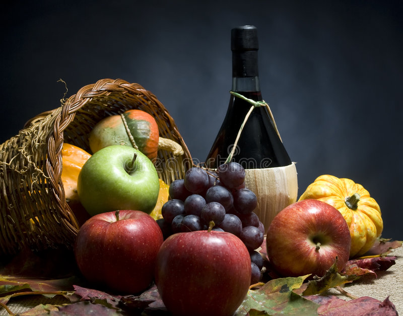 Download Wine and Grapes stock image. Image of leaves, crystal - 3511553
