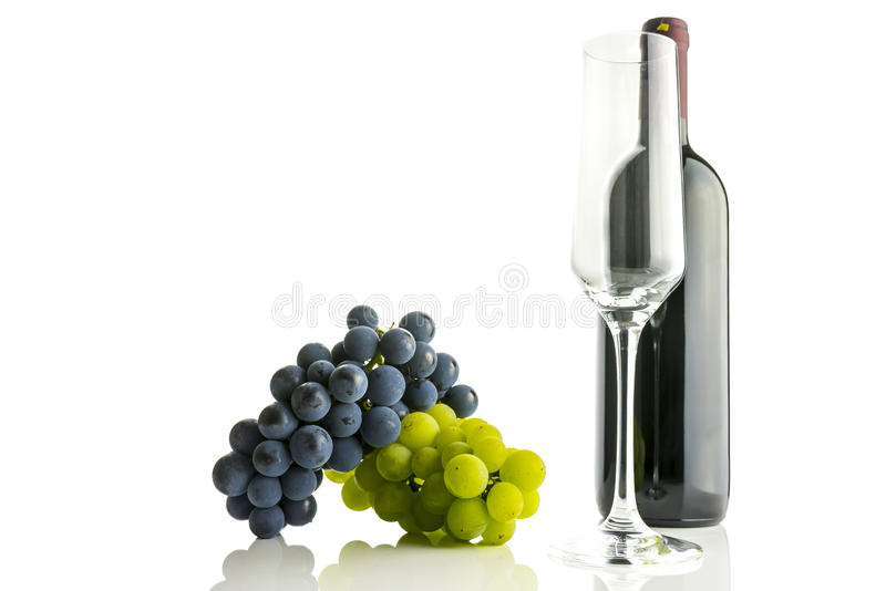 Download Wine and grapes stock image. Image of white, alcohol - 33680555