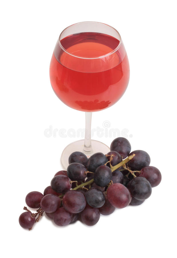 Wine and grapes seven royalty free stock images