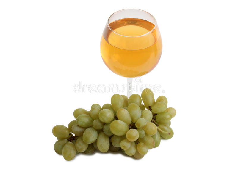 Wine and grapes six royalty free stock image
