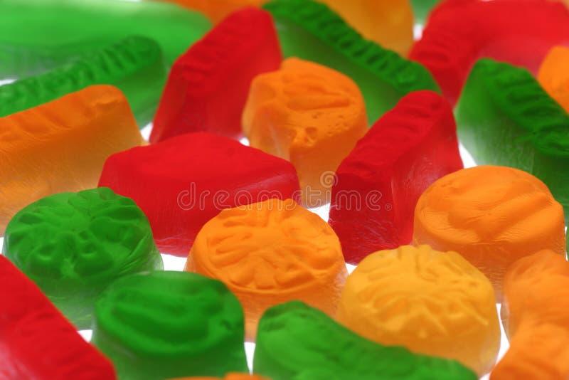 Wine gums stock image