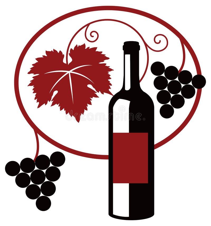 Download Wine illustration stock vector. Illustration of symbol - 24835348