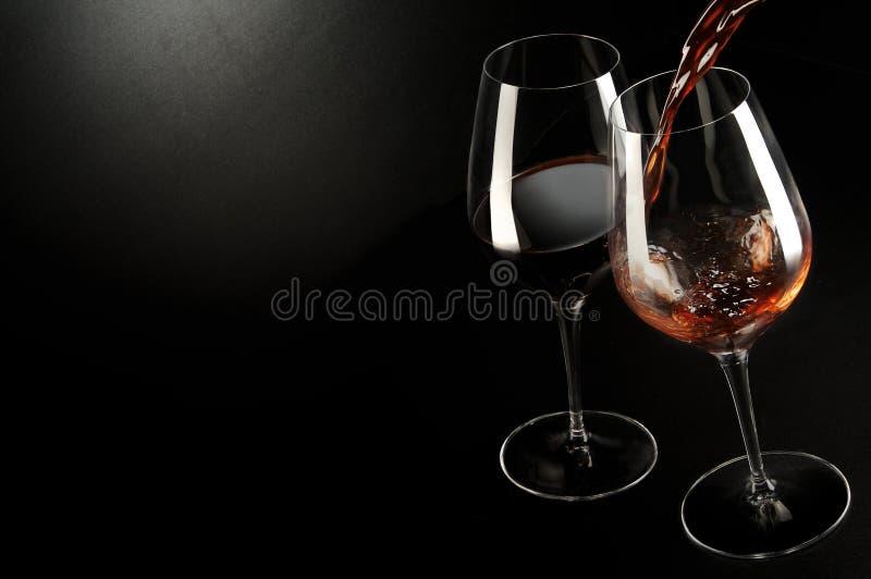 Wine... Just Met Royalty Free Stock Photo