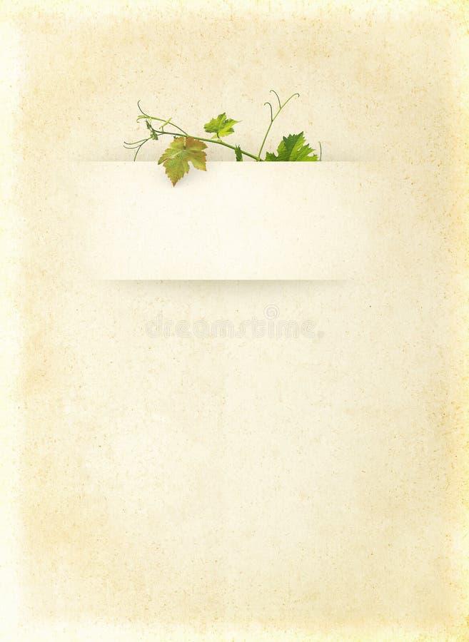 Wine list menu royalty free stock images