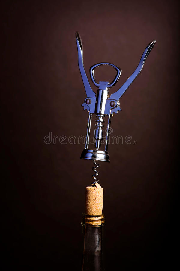 Wine Opener stock photo