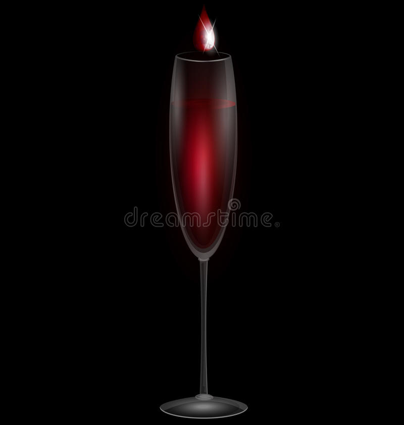 Wine And Poison Stock Image