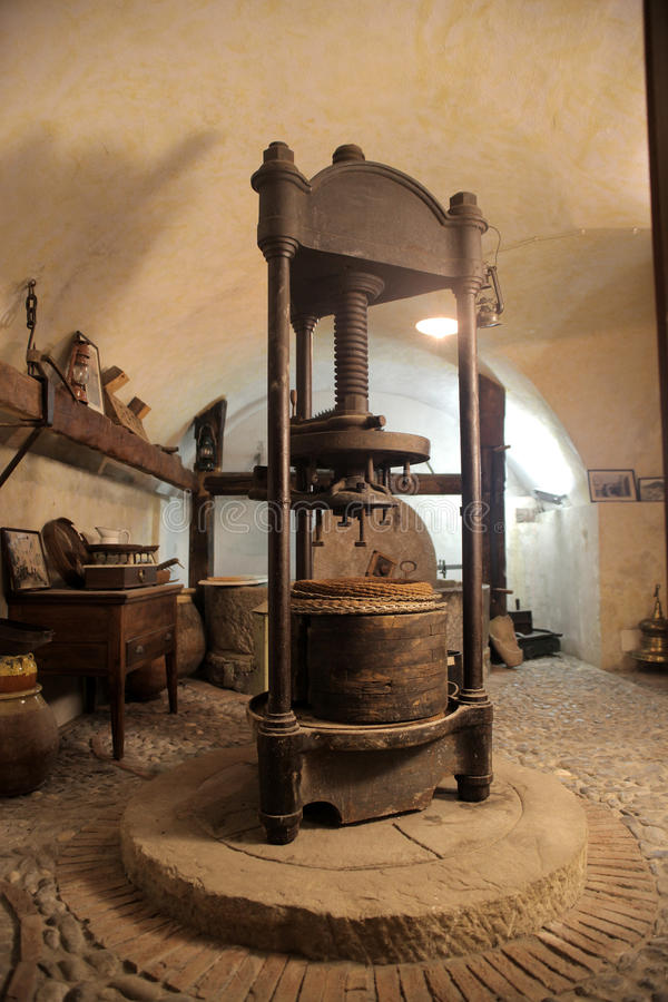 Download Wine press stock image. Image of farm, winepress, cellar - 20862333
