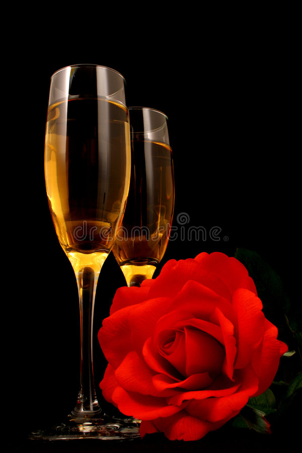 Wine And Romance Royalty Free Stock Image