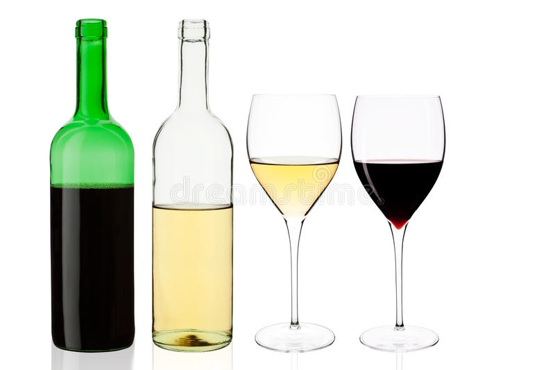 Wine set. stock photo