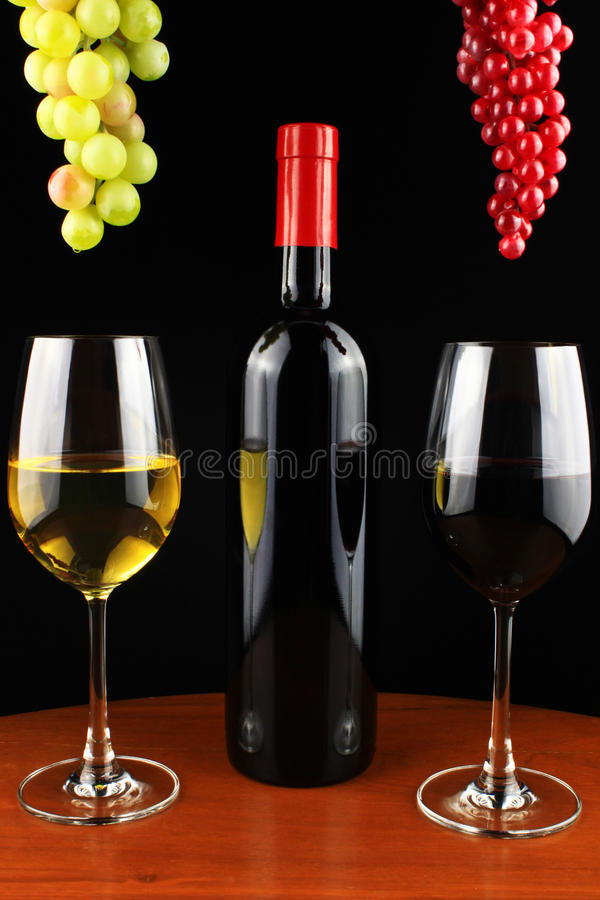 Wine set stock images