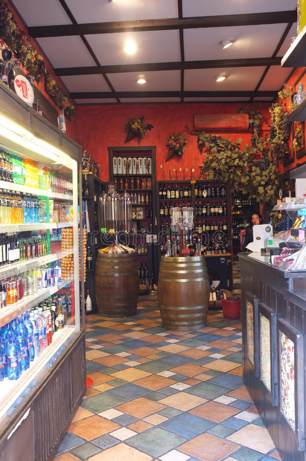 Wine Shop Editorial Photography