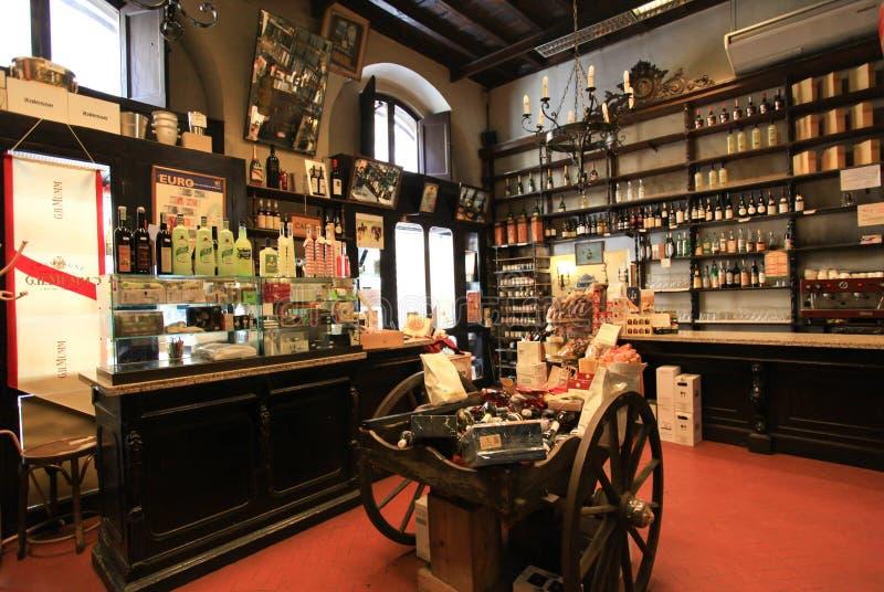 Wine Shop In Rome Editorial Photo