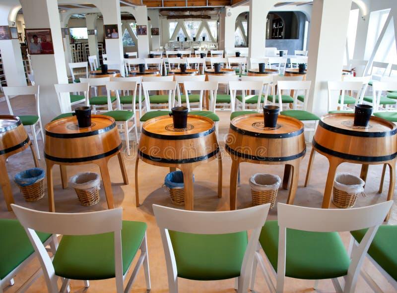 Download Wine shop in Santornini stock photo. Image of glass, interior - 28668760