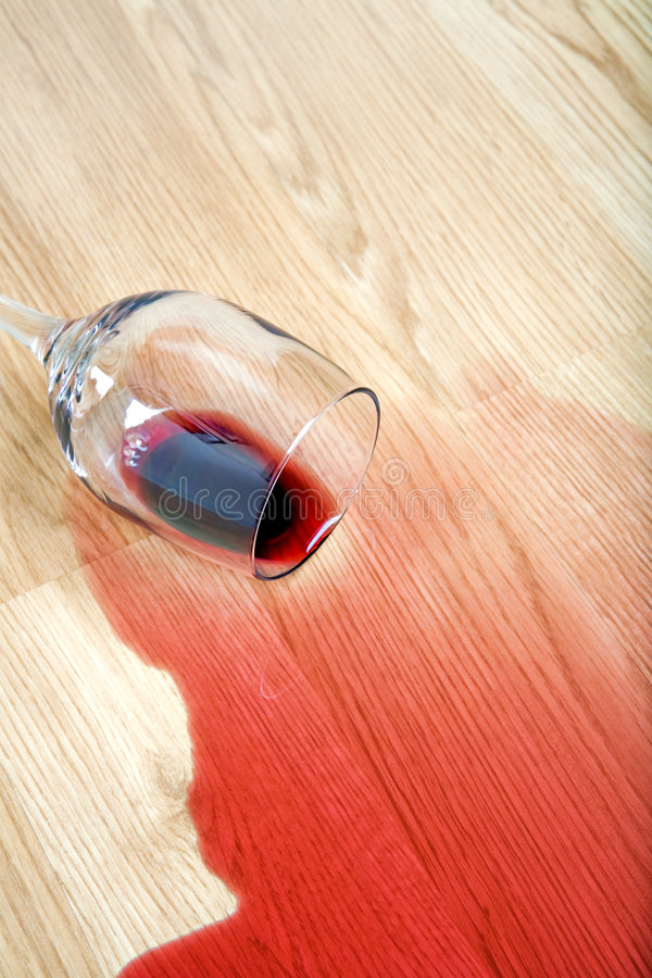 Download Wine spilled on floor stock image. Image of wood, spilt - 6578957