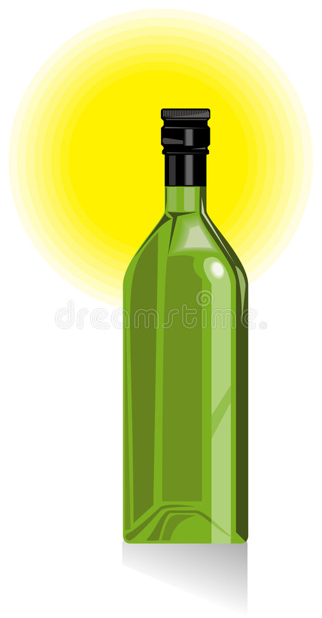Download Wine and spirits bottle stock vector. Illustration of green - 7474558