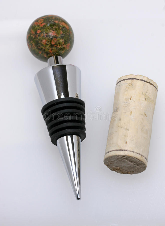 Free Wine Stopper And Cork Stock Photos - 27671473
