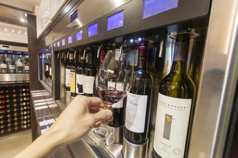 Wine tasting royalty free stock photos