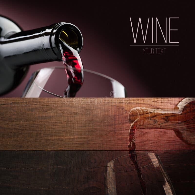 Wine tasting banner set stock photography