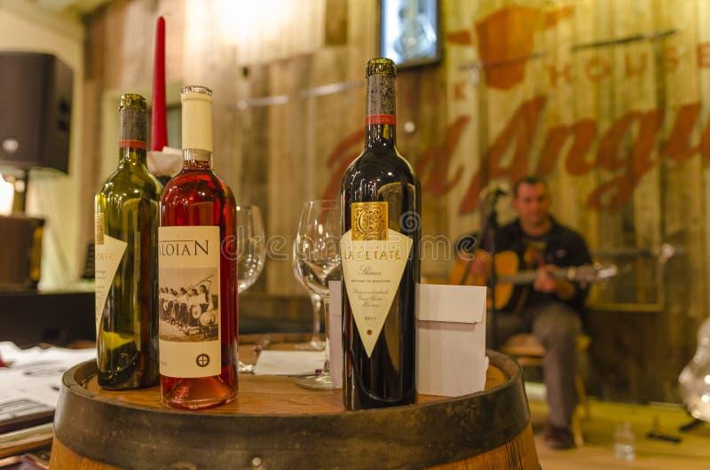 Wine tasting event royalty free stock photos